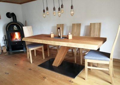 Weiler Martin Schreiner Esstisch aus Holz